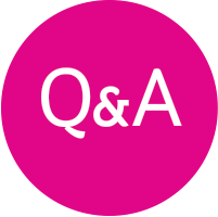Image result for pink q and a