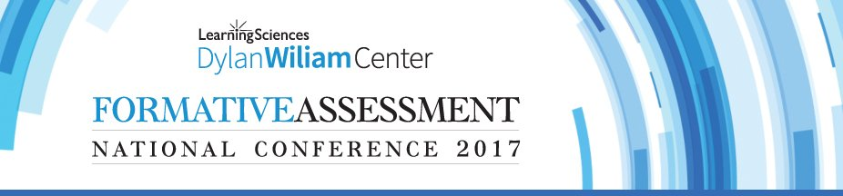 Formative Assessment National Conference 2017 – Dylan Wiliam Center