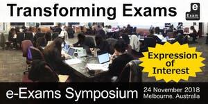 Transforming Exams – e-Exams Symposium