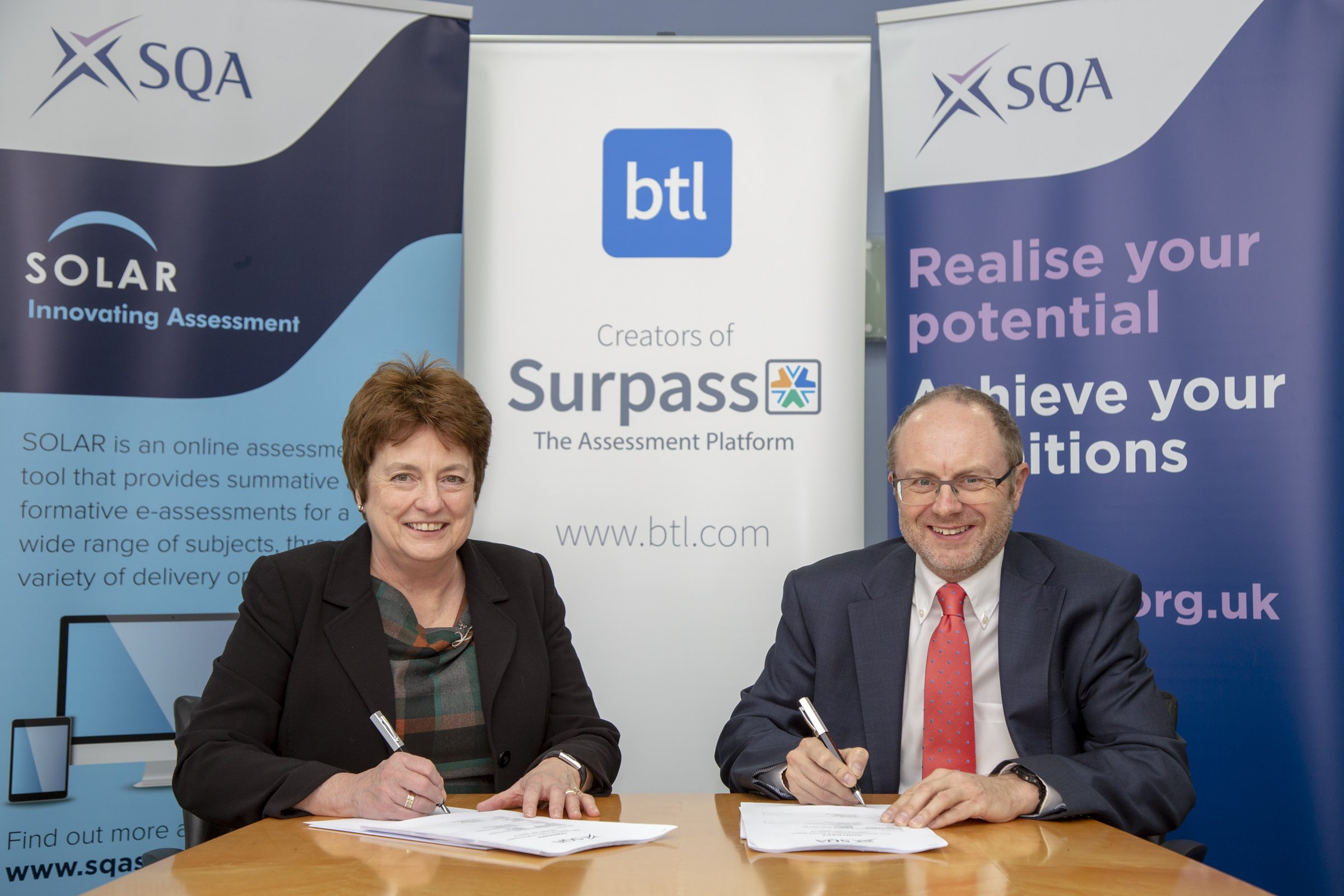 SQA confirms its investment in cutting-edge technology for high-stakes e-assessment
