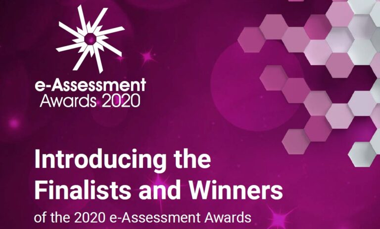 e-Assessment Awards Finalists and Winners Brochure