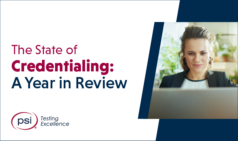 Blog: The State of Credentialing: A Year in Review