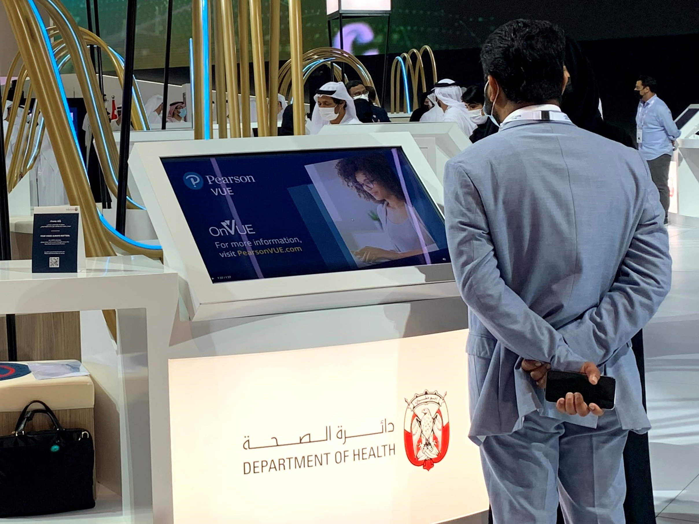 Testing partnership between Pearson VUE and The Department of Health – Abu Dhabi (DoH) honoured by Gold Stevie Award
