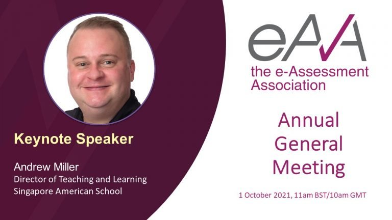 Presentation from Andrew Miller at the eAA AGM on 1 October 2021